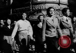 Image of Citizens celebrate annexation of Austria by Germany Villach Austria, 1938, second 7 stock footage video 65675041766