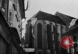 Image of Citizens celebrate annexation of Austria by Germany Villach Austria, 1938, second 10 stock footage video 65675041766