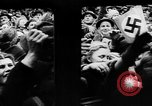 Image of Citizens celebrate annexation of Austria by Germany Villach Austria, 1938, second 16 stock footage video 65675041766