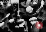 Image of Citizens celebrate annexation of Austria by Germany Villach Austria, 1938, second 24 stock footage video 65675041766