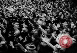 Image of Citizens celebrate annexation of Austria by Germany Villach Austria, 1938, second 25 stock footage video 65675041766
