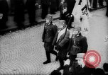 Image of Citizens celebrate annexation of Austria by Germany Villach Austria, 1938, second 28 stock footage video 65675041766