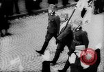 Image of Citizens celebrate annexation of Austria by Germany Villach Austria, 1938, second 29 stock footage video 65675041766
