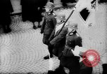 Image of Citizens celebrate annexation of Austria by Germany Villach Austria, 1938, second 30 stock footage video 65675041766