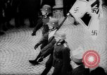 Image of Citizens celebrate annexation of Austria by Germany Villach Austria, 1938, second 31 stock footage video 65675041766
