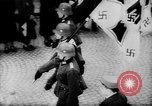 Image of Citizens celebrate annexation of Austria by Germany Villach Austria, 1938, second 32 stock footage video 65675041766
