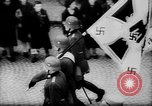 Image of Citizens celebrate annexation of Austria by Germany Villach Austria, 1938, second 33 stock footage video 65675041766