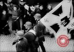 Image of Citizens celebrate annexation of Austria by Germany Villach Austria, 1938, second 34 stock footage video 65675041766