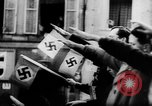 Image of Citizens celebrate annexation of Austria by Germany Villach Austria, 1938, second 37 stock footage video 65675041766