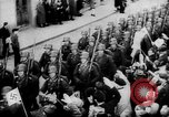 Image of Citizens celebrate annexation of Austria by Germany Villach Austria, 1938, second 40 stock footage video 65675041766