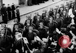 Image of Citizens celebrate annexation of Austria by Germany Villach Austria, 1938, second 42 stock footage video 65675041766