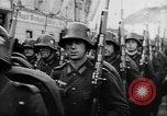 Image of Citizens celebrate annexation of Austria by Germany Villach Austria, 1938, second 45 stock footage video 65675041766