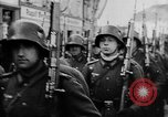 Image of Citizens celebrate annexation of Austria by Germany Villach Austria, 1938, second 46 stock footage video 65675041766