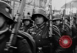 Image of Citizens celebrate annexation of Austria by Germany Villach Austria, 1938, second 47 stock footage video 65675041766