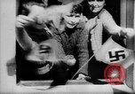 Image of Citizens celebrate annexation of Austria by Germany Villach Austria, 1938, second 49 stock footage video 65675041766