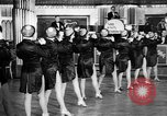 Image of chorus line dance performance Berlin Germany, 1932, second 29 stock footage video 65675041779
