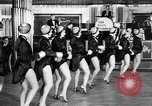 Image of chorus line dance performance Berlin Germany, 1932, second 30 stock footage video 65675041779