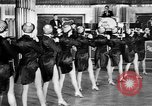 Image of chorus line dance performance Berlin Germany, 1932, second 32 stock footage video 65675041779
