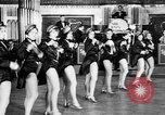 Image of chorus line dance performance Berlin Germany, 1932, second 34 stock footage video 65675041779
