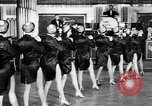 Image of chorus line dance performance Berlin Germany, 1932, second 35 stock footage video 65675041779