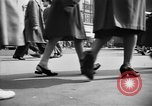 Image of Fifth Avenue New York City USA, 1950, second 7 stock footage video 65675041792