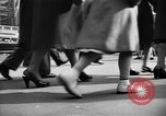 Image of Fifth Avenue New York City USA, 1950, second 8 stock footage video 65675041792