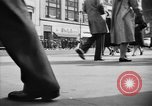 Image of Fifth Avenue New York City USA, 1950, second 15 stock footage video 65675041792