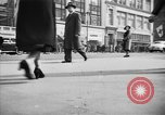 Image of Fifth Avenue New York City USA, 1950, second 20 stock footage video 65675041792