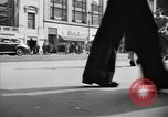 Image of Fifth Avenue New York City USA, 1950, second 22 stock footage video 65675041792