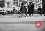 Image of Fifth Avenue New York City USA, 1950, second 24 stock footage video 65675041792
