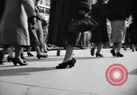 Image of Fifth Avenue New York City USA, 1950, second 27 stock footage video 65675041792