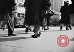 Image of Fifth Avenue New York City USA, 1950, second 28 stock footage video 65675041792