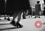 Image of Fifth Avenue New York City USA, 1950, second 30 stock footage video 65675041792