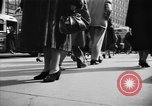 Image of Fifth Avenue New York City USA, 1950, second 35 stock footage video 65675041792