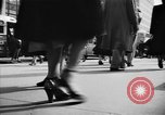 Image of Fifth Avenue New York City USA, 1950, second 36 stock footage video 65675041792