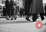 Image of Fifth Avenue New York City USA, 1950, second 46 stock footage video 65675041792