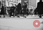Image of Fifth Avenue New York City USA, 1950, second 48 stock footage video 65675041792