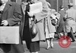 Image of Fifth Avenue New York City USA, 1950, second 58 stock footage video 65675041792