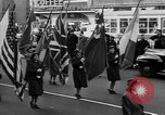 Image of United Nations Week parade New York City USA, 1950, second 39 stock footage video 65675041796