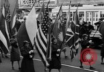 Image of United Nations Week parade New York City USA, 1950, second 41 stock footage video 65675041796