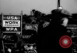 Image of Works Projects Administration New York City USA, 1939, second 41 stock footage video 65675041802
