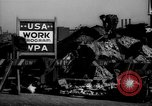 Image of Works Projects Administration New York City USA, 1939, second 46 stock footage video 65675041802
