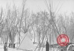 Image of Crow Native American Indian tribe reservation Montana United States USA, 1921, second 36 stock footage video 65675041805
