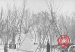 Image of Crow Native American Indian tribe reservation Montana United States USA, 1921, second 37 stock footage video 65675041805