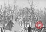Image of Crow Native American Indian tribe reservation Montana United States USA, 1921, second 45 stock footage video 65675041805