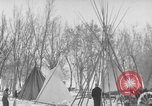 Image of Crow Native American Indian tribe reservation Montana United States USA, 1921, second 46 stock footage video 65675041805