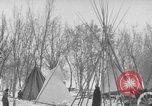 Image of Crow Native American Indian tribe reservation Montana United States USA, 1921, second 47 stock footage video 65675041805