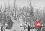 Image of Crow Native American Indian tribe reservation Montana United States USA, 1921, second 48 stock footage video 65675041805