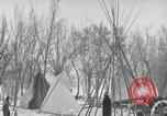 Image of Crow Native American Indian tribe reservation Montana United States USA, 1921, second 49 stock footage video 65675041805