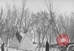 Image of Crow Native American Indian tribe reservation Montana United States USA, 1921, second 52 stock footage video 65675041805